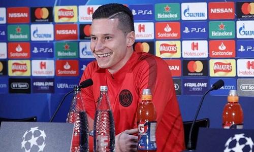 Draxler tin PSG có đủ khả năng hóa giải các tiền vệ của Man Utd. Ảnh: PSG.