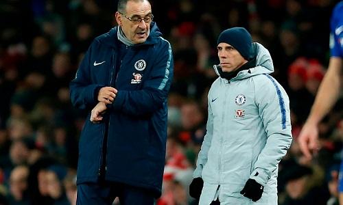 Zola được xem là ứng viên tiềm năng để thay thế Sarri. Ảnh: AFP.