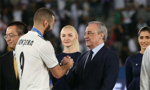 Benzema vẫn chơi rất hay ở tuổi 31. Ảnh: Reuters