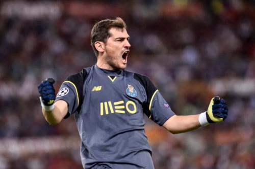 Casillas đang tìm lại được niềm vui thi đấu và phong độ cao ở Porto.