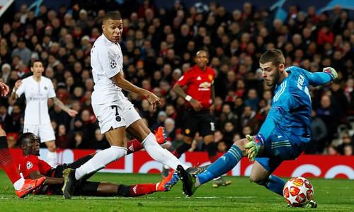 Mbappe ghi bàn thắng ấn định tỷ số cho PSG. Ảnh: Reuters.