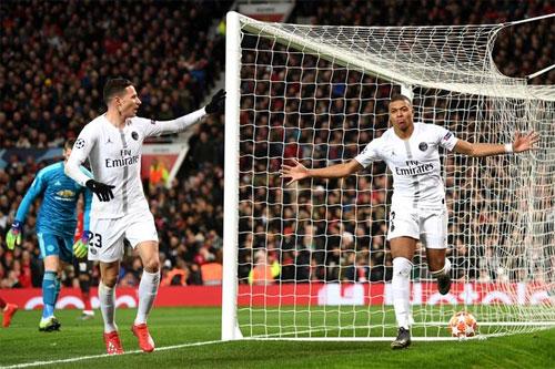 PSG vốn có nhiều khó khăn về lực lượng trước trận thắng trên sân Old Trafford. Ảnh: Reuters