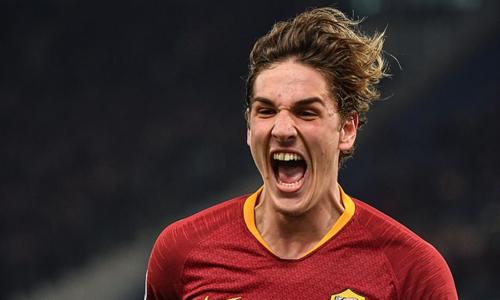 Zaniolo là một trong những tài năng trẻ sáng giá nhất Italy hiện tại. Ảnh: AFP.