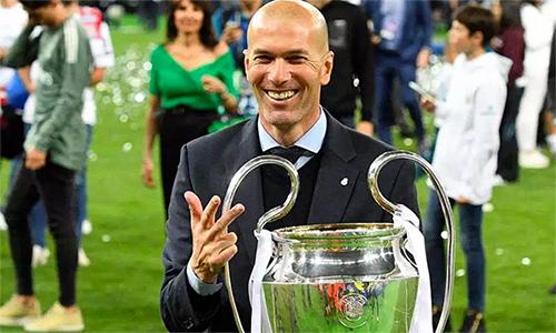 Zidane đang rất sẵn lòng đến Anh làm việc. Ảnh: AFP.