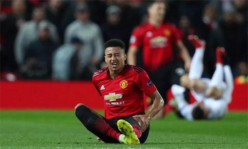 Man Utd khởi sắc thời gian qua nhờ một phần công sức của ba tiền đạo Lingard,Martial và Rashford. Ảnh: Reuters