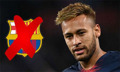 Neymar và Barca khó có khả năng tái hợp.