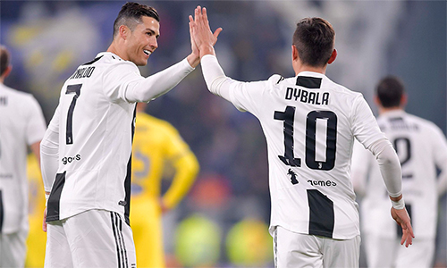 Dybala và Ronaldo cùng nhau truyền cảm hứng cho chiến thắng của Juventus.