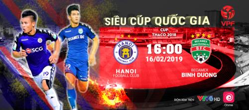 Hà Nội và cơ hội đòi nợ Bình Dương ở Siêu Cup quốc gia 2019 - 2