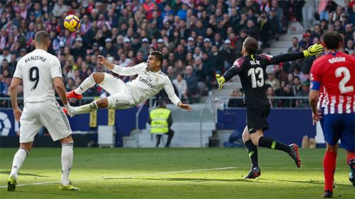 Real đang bay bổng với một loạt kết quả ấn tượng trước các đối thủ lớn.
