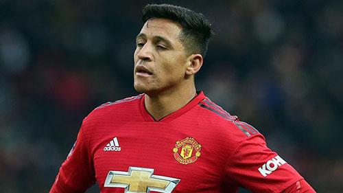 Sanchez bị chỉ trích nặng nề vì phong độ yếu kém trong màu áo Man Utd. Ảnh: EPA.