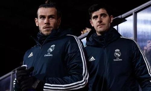 Courtois chỉ trích Bale trước trận đấu với Girona tối 17/2. Ảnh: AFP.