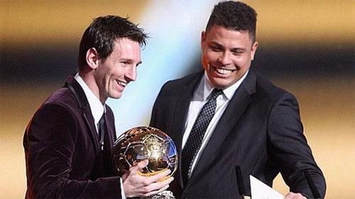 Messi bừng sáng với Barca 12 năm sau khi Ronaldo Nazario ra đi. Ảnh: Reuters
