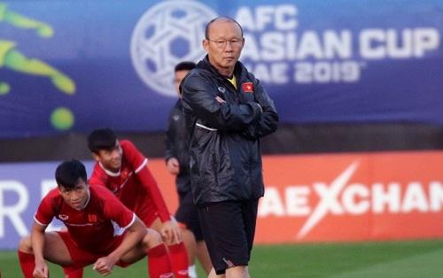 HLV Park đang tính toán để bổ sung những gương mặt mới cho U23 Việt Nam. Ảnh: VFF.