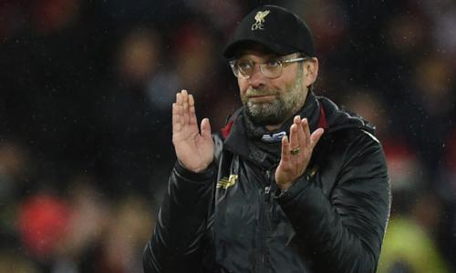 Klopp và Liverpool vẫn còn nhiều cơ hội giành quyền đi vào tứ kết. Ảnh:AFP.