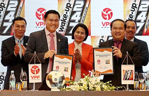 V-League có nhà tài trợ mới