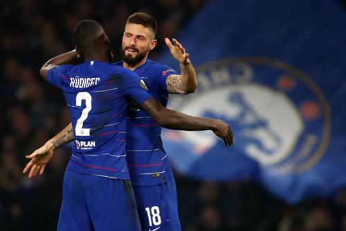 Chelsea đặt rất nhiều kỳ vọng vào sân chơi Europa League sau khi đánh mất lợi thế trong cuộc đua top 4 Ngoại hạng Anh. Ảnh:AFP.