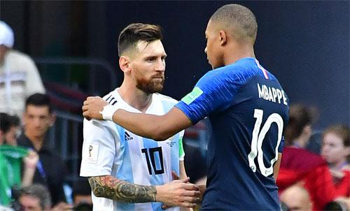 Mbappe là cầu thủ sáng giá nhất có thể đạt đến tầm của Messi và Ronaldo. Ảnh: Reuters