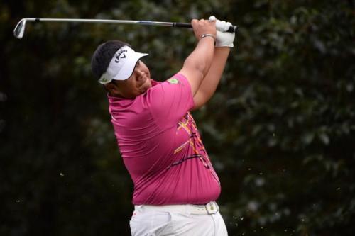 Kiradech Aphibarnrat có lần thứ tư đứng trong top 5 tại sự kiện World Golf Championships. Ảnh:Reuters.