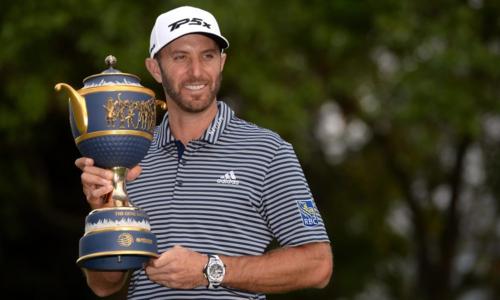 Dustin Johnson đăng quang thuyết phục với chỉ hai lỗi bogey sau bốn vòng đấu. Ảnh: Golfweek.
