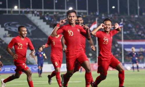 Indonesia bất ngờ đánh bại Thái Lan 2-1 để lên ngôi vô địch. Ảnh: Anh Lê.
