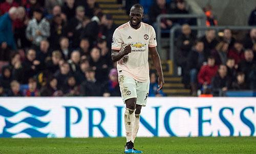 Lukaku lập cú đúp tối 27/2, giúp Man Utd có ba điểm trước Crystal Palace. Ảnh: PA.