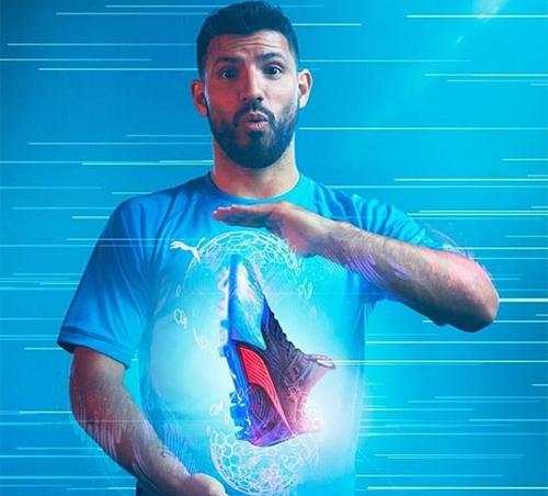 Man City tiếp tục có bước tiến lớn về mặt phát triển thương hiệu sau những thành công về chuyên môn. Ảnh: Instagram/Sergio Aguero.
