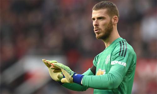 De Gea nhiều khả năng sẽ ở lại Man Utd. Ảnh: AFP.