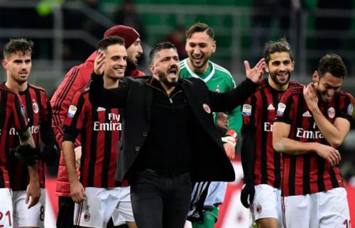 Sự máu lửa và chân thành của Gattuso đang soi đường cho các cầu thủ trẻ của Milan.