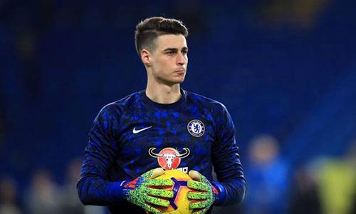 Chelsea biến Kepa trở thành thủ môn đắt giá nhất thế giới trong hè 2018. Ảnh: EPA.