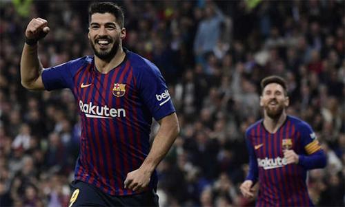 Messi (phải) không chơi xuất sắc như khi lập hat-trick vào lưới Sevilla cuối tuần trước. Ảnh: Reuters