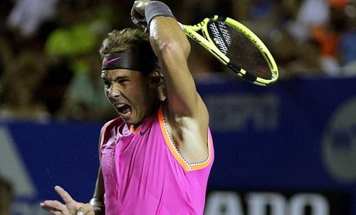 Nadal bức xúc với thái độ thi đấu và ứng xử của Kyrgios. Ảnh: EPA.