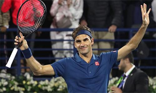 Federer có trận đấu dễ dàng nhất từ đầu giải. Ảnh: Sky.