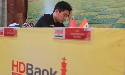 Lê Tuấn Minh đoạt hạng tư, các kỳ thủ Việt Nam vắng mặt trong top ba. Ảnh: Xuân Bình.