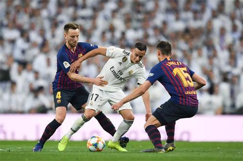 Barca đã có hiệp hai xuất sắc trong trận bán kết lượt về Cup Nhà vua.