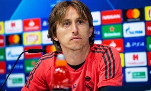 Modric muốn các tiền đạo của Real thay thế nhiệm vụ ghi bàn Ronaldo để lại. Ảnh: AFP.