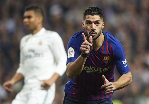 Từ khi gia nhập Barca, Suarez xem Real là kình địch lớn nhất.