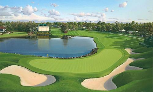 Bay Hill - địa điểm thi đấu của Arnold Palmer Invitational - là một trong những sân golf đẹp nhất nước Mỹ.