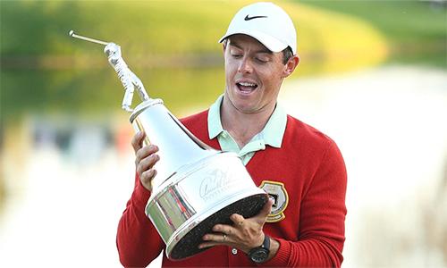 McIlroy đứng trước cơ hội trở thành golfer thứ tư vô địch giải trong hai năm liên tiếp. Ảnh: GolfChannel.