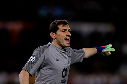 Casillas nắm giữ những kỷ lục quan trọng ở sân chơi châu Âu. Ảnh:AFP.