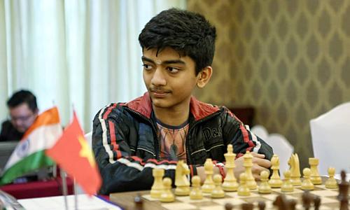 Rajinikanth là bố của thần đồng Gukesh D (ảnh) - kỳ thủ trẻ gây tiếng vang không chỉ ở HDBank Master mà còn trên khắp thế giới.