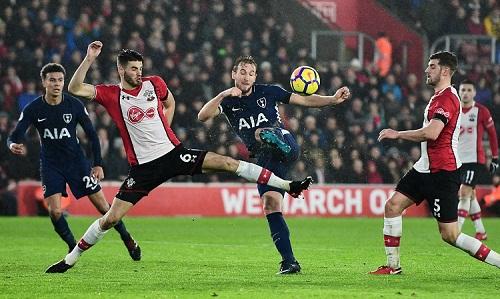 Kane ghi bàn trong ba lần gần nhất đá trên sân Southampton. Ảnh: Reuters.