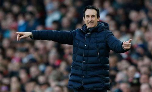 Arsenal và Emery đang hướng đến mục tiêu giữ chắc vị trí trong Top 4. Ảnh: Reuters