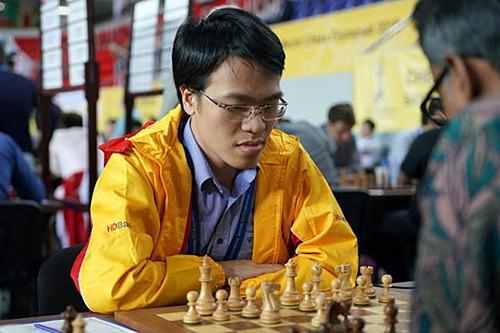 Quang Liêm thắng ba, hòa bốn và thua hai ván tại giải cờ Mùa Xuân.