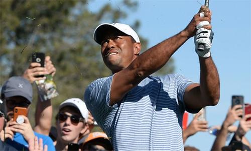 Tiger Woods mang tin vui cho các CĐV trước thềm The Players – giải đấu được ví như major thứ năm của làng golf. Ảnh: Sky.