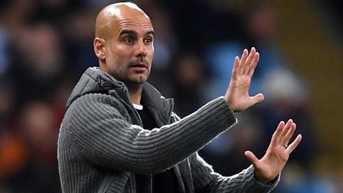 HLV Guardiola đã nhìn thấy những bất ngờ ở vòng 1/8 Champions League mùa này. Ảnh:AFP.