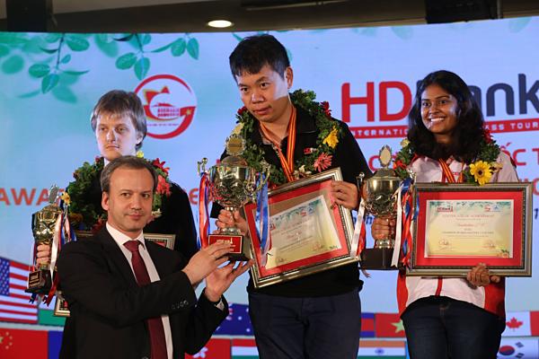 Giải Cờ vua Quốc tế HDBank sẽ nâng tầm cờ vua Việt Nam ra thế giới - page 2 - 2
