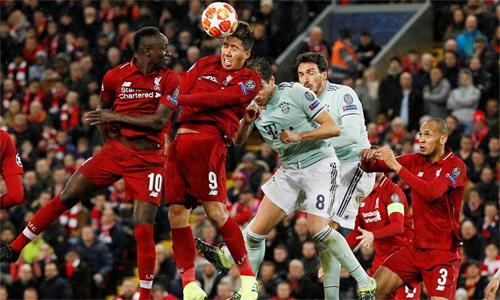 Liverpool sẽ nắm lợi thế lớn nếu ghi được bàn trên sân khách. Ảnh: Reuters.