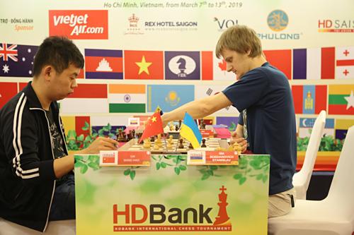 Giải cờ vua HDBank sẽ khép lại chiều 13/3 sau chín ván đấu trí căng thẳng của gần 300 kỳ thủ.