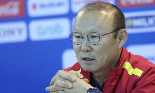Park Hang-seo thừa nhận áp lực giành HC vàng SEA Games 2019
