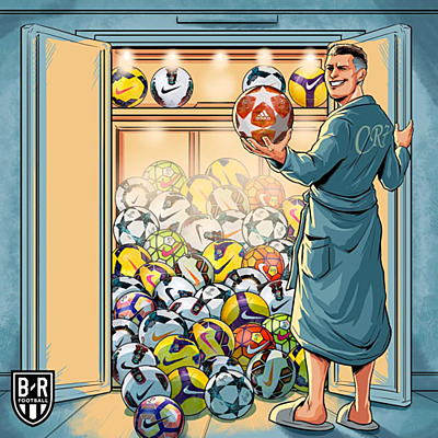 Số bàn thắng của Ronaldo tại Champions League vượt quá sức tưởng tượng.